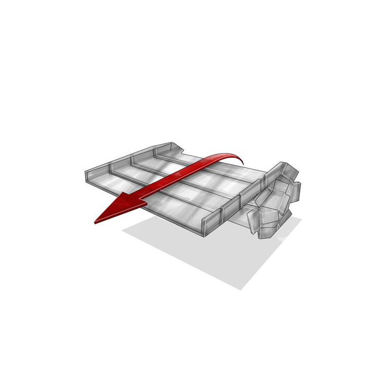 Rampe d'accès modulaire et enroulable Roll-a-ramp