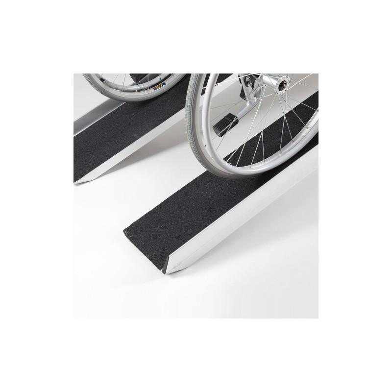 Paire de rampes d'accès de chargement pour scooters et fauteuils roulants