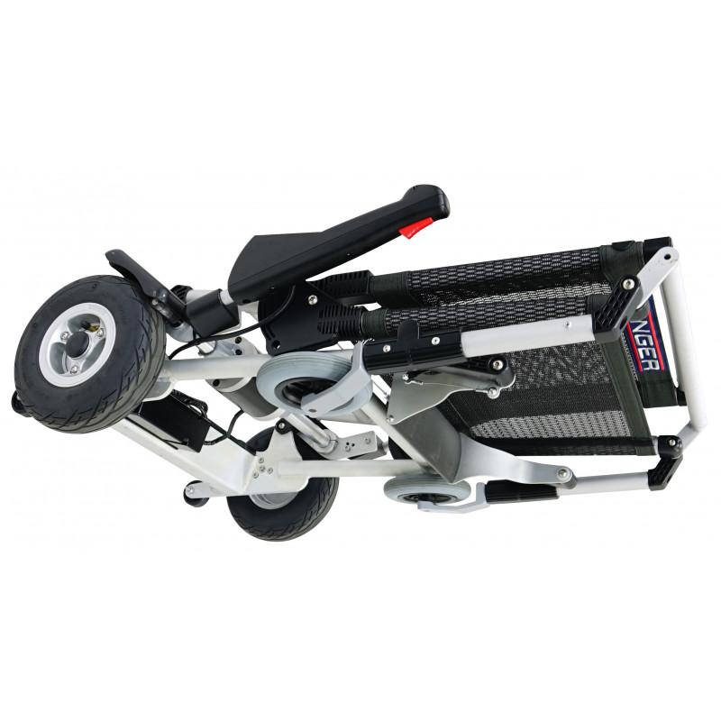 Essai à domicile du fauteuil roulant électrique Zinger