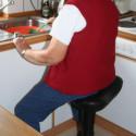 Siège ergonomique à roulettes