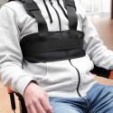 Gilet de maintien respirant pour fauteuil roulant