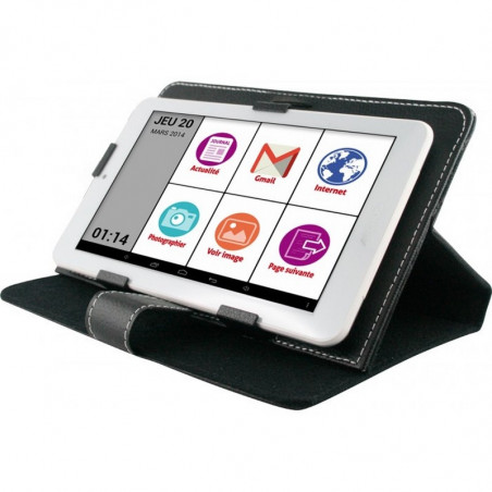 Tablette senior WIFI TAB 7' + pochette multi-position