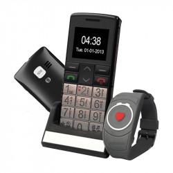 Téléphone portable classic top et montre SOS - Mobiho
