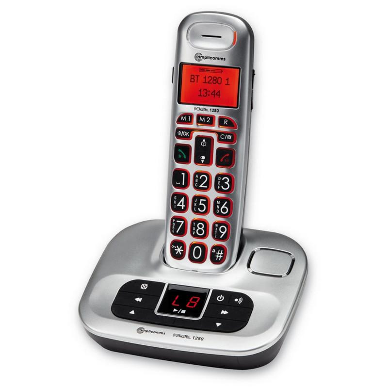 DISPO FEVRIER EN 2017 - Téléphone sans fil BigTel 1280 - Amplicomms