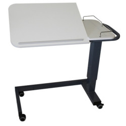 Table d'alité avec vérin et roulettes AC805
