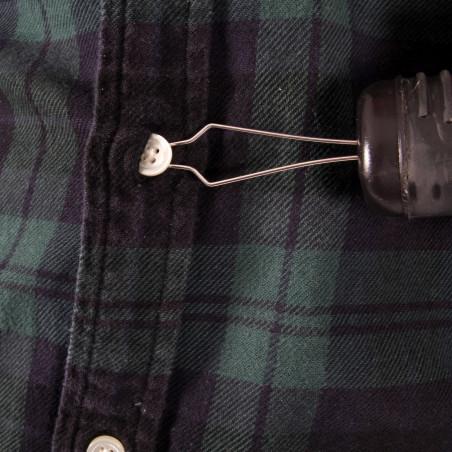 Enfile bouton à large poignée