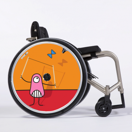 Flasque fauteuil roulant Pencils