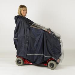 Cape intégrale pour scooter