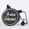 Flasque fauteuil roulant Je suis handispensable