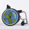 Flasque fauteuil roulant Kisifrot