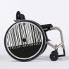 Flasque fauteuil roulant Valeur inestimable noir