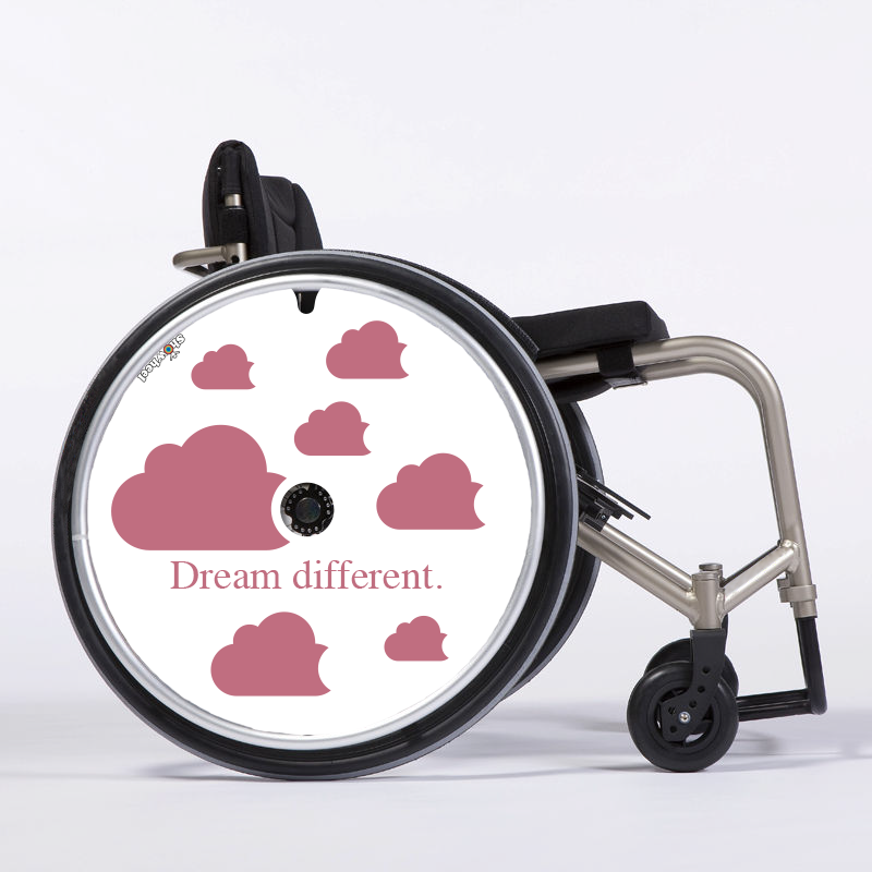 Flasque fauteuil roulant Dream different