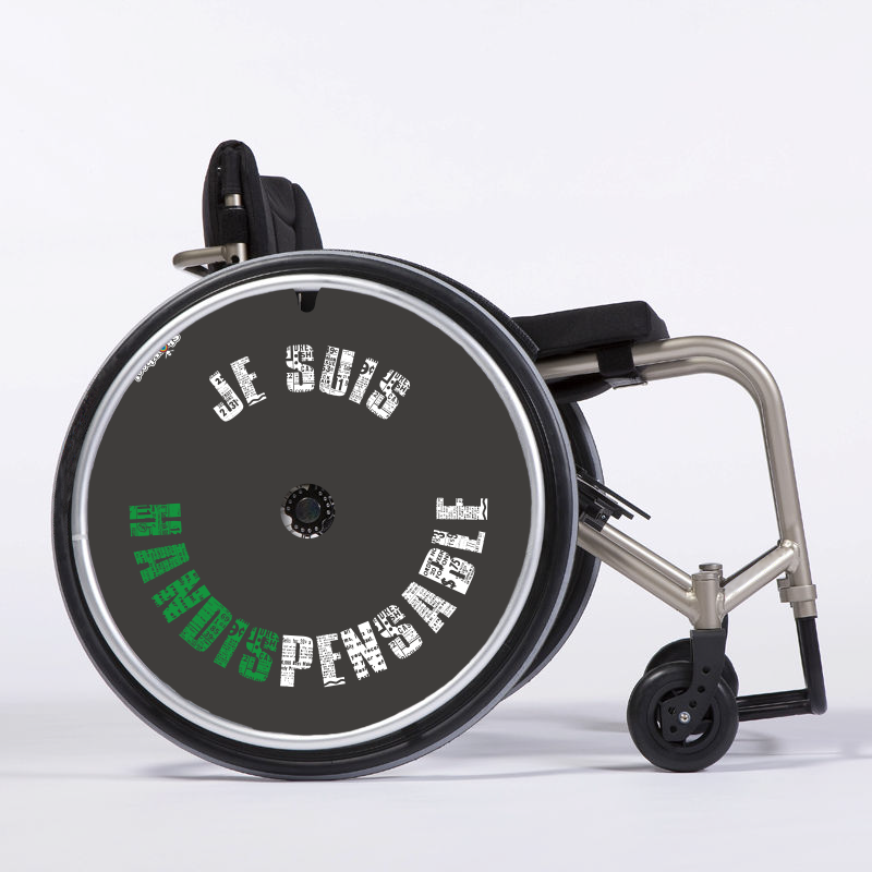 Flasque fauteuil roulant Handispensable rond