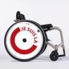 Flasque fauteuil roulant Je suis la