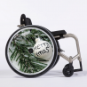 Flasque fauteuil roulant Merry Christmas
