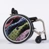 Flasque fauteuil roulant Cravate à pois