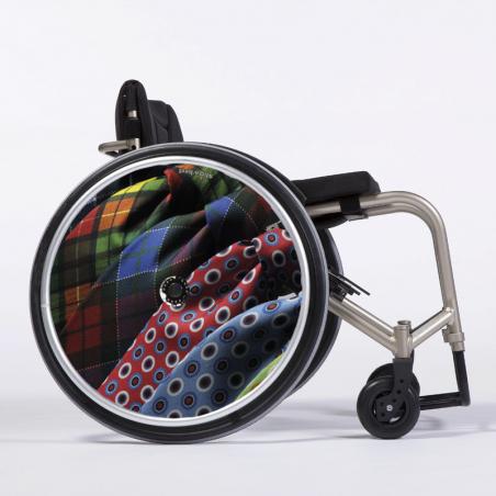 Flasque fauteuil roulant