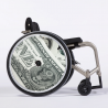 Flasque fauteuil roulant One dollar