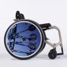 Flasque fauteuil roulant Fléchettes bleues