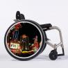 Flasque fauteuil roulant Plaza casino