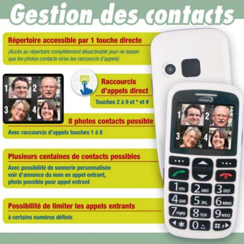 Téléphone portable clap luxe 2 - Mobiho