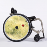 Flasque fauteuil roulant Le jolie coquelicot
