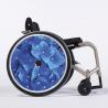 Flasque fauteuil roulant Hortensia bleu