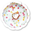 Flasque fauteuil roulant Donut