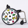 Flasque fauteuil roulant Monsters