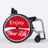 Flasque fauteuil roulant Enjoy your Life