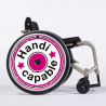 Flasque fauteuil roulant Handicapable Rose