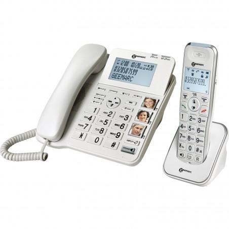 Lot de deux téléphones - Amplidect