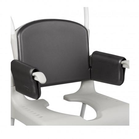 Dossier et accoudoirs grand confort pour chaise Clean