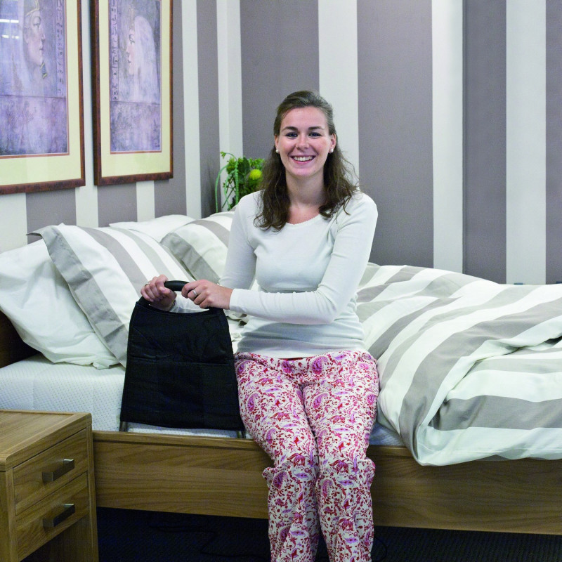 Poignée d'accès au lit