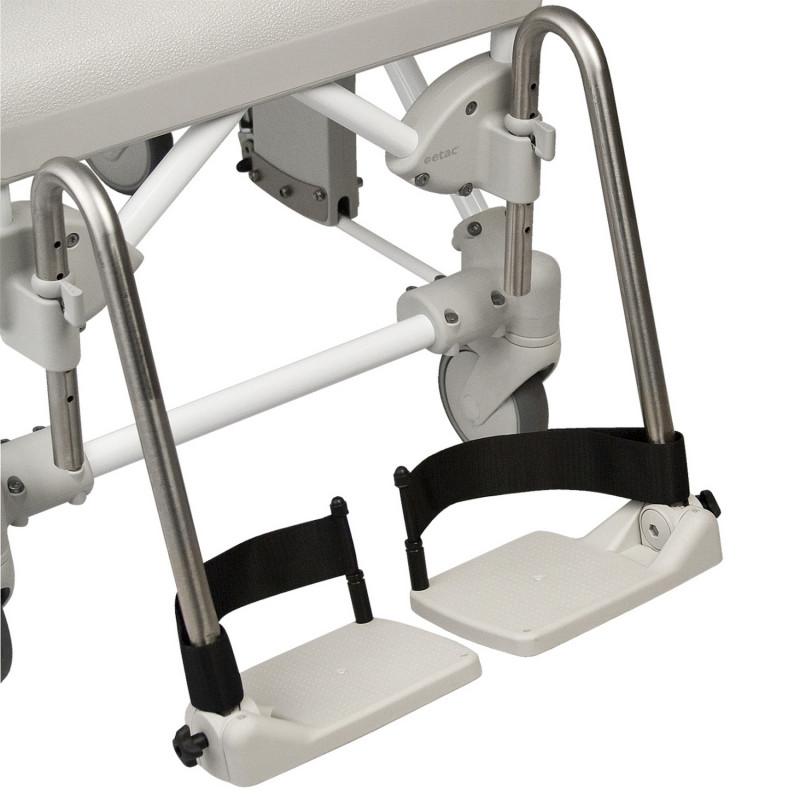 Cales talonnières pour fauteuil roulant de douche Swift Mobile