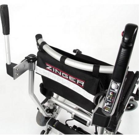 """Fauteuil roulant électrique et pliable ZINGER avec kit """"move up"""""""