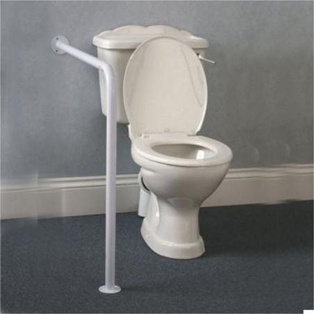 Barre d'appui mur/sol pour WC
