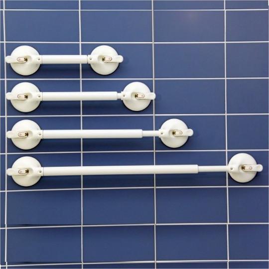 Barre d'appui à ventouses télescopique Mobeli