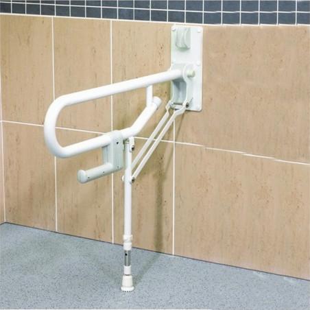 Barre d'appui rabattable avec pieds - Nordencare