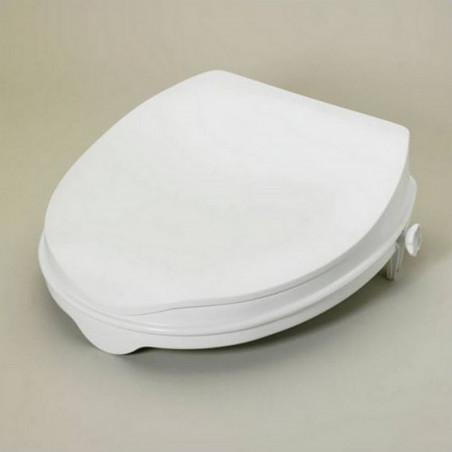 Rehausseur de WC avec couvercle hauteur 5 cm