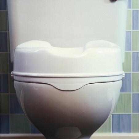 Réhausseur de WC sans couvercle hauteur 10cm
