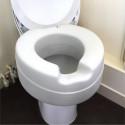 Rehausseur de WC contact souple avec couvercle