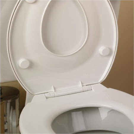 Double siège toilettes