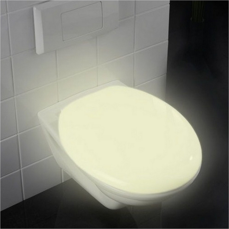 Abattant de WC fluorescent Thermoplast