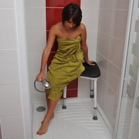 tabouret de douche salle de bain tous ergo. Black Bedroom Furniture Sets. Home Design Ideas
