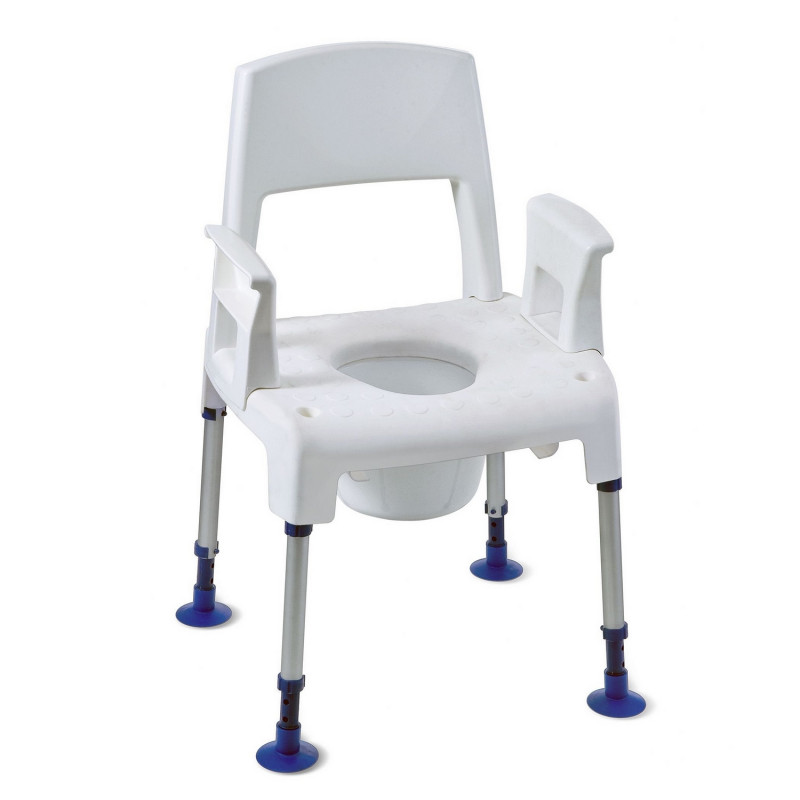 Chaise percée de douche Pico Commode - Invacare
