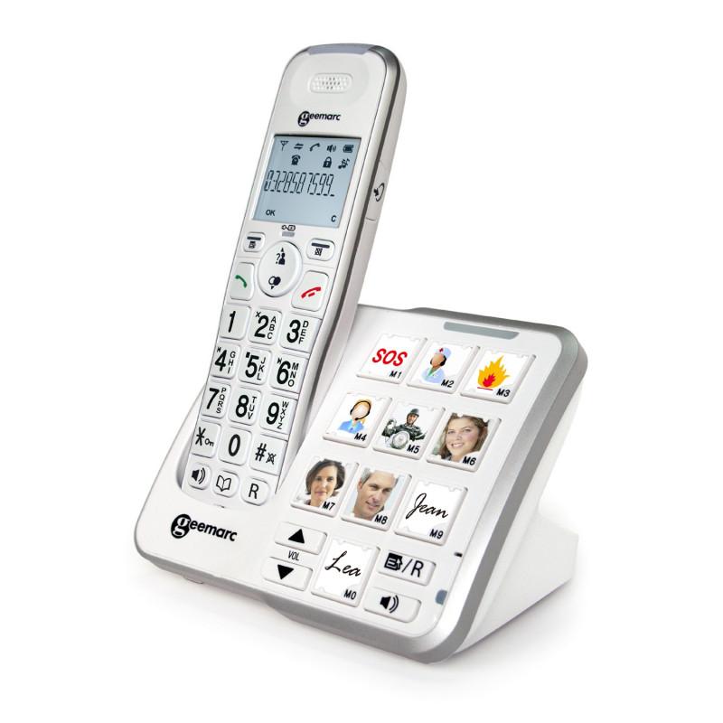 Téléphone sans fil Photodect - Geemarc senior