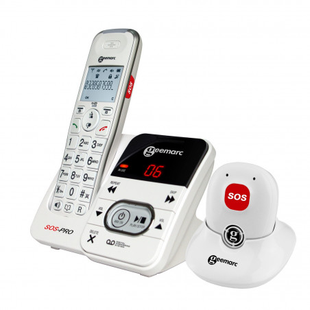 Téléphone alarme Amplidect 295 SOS Pro