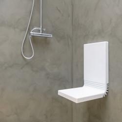 Siège de douche rabattable Tuck
