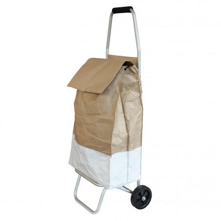 Chariot de courses Kraft Tyvek